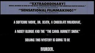 Documentary Fun: The Thin Blue Line