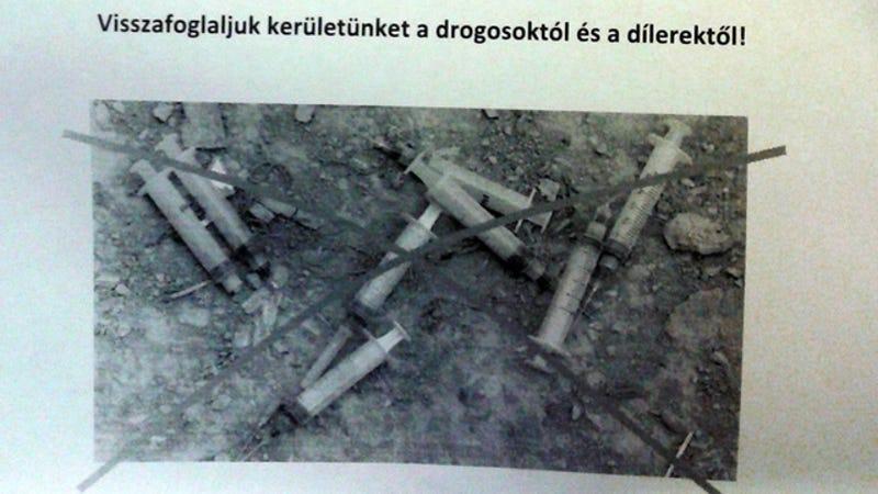 Bevitték az oviba a józsefvárosi drogháborút