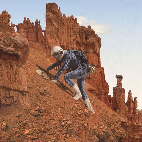 NASA commissioned these bizarre and beautiful photographs of our Martian future
