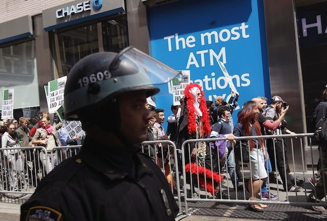 NYPD Raids Activists' Homes Before May Day Protests
