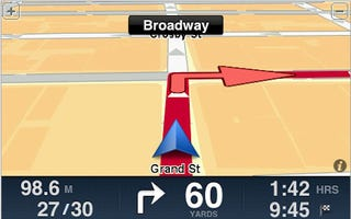TomTom iPhone Navigation Hits US, Canadian App Store For $100