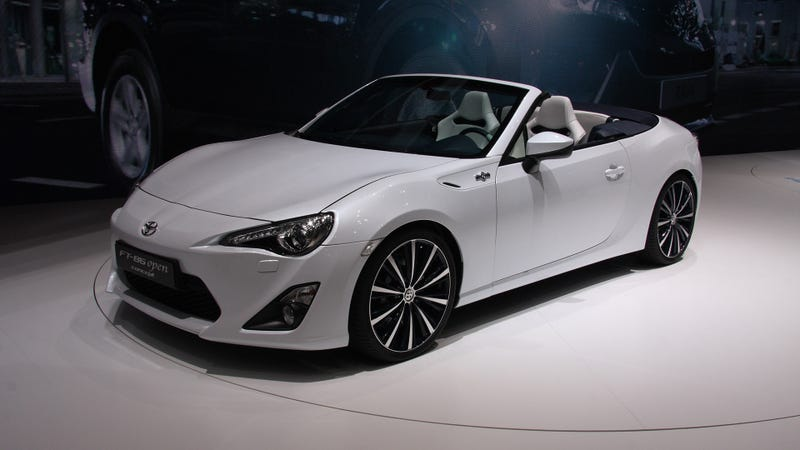 This Is The Scion FR-S Cabrio In The Flesh