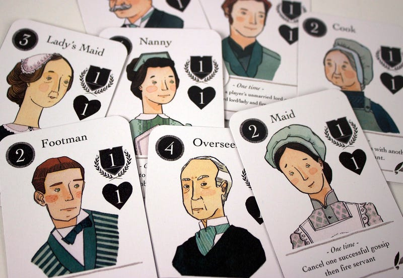 A Card Game Inspired By Downton Abbey