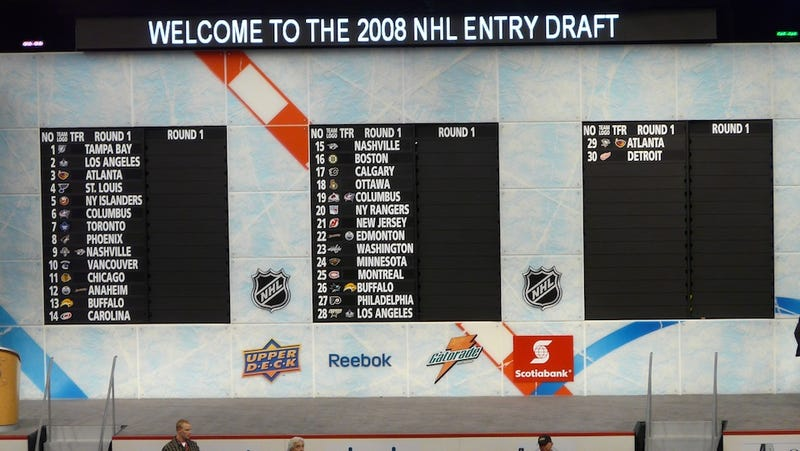 Six, Wait No, Five Reasons To Watch The NHL Draft, Which I Think Is Tonight