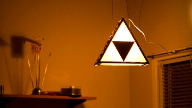 You'll Want This Triforce Lamp Until You See The Price Tag