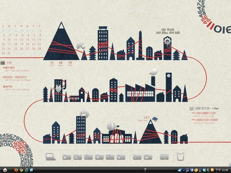 The Connected City Desktop