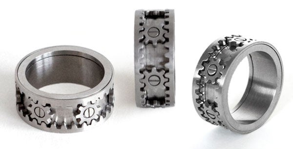 Working Gear Ring Geared Towards Gear Heads