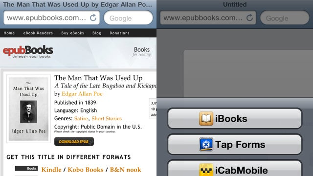 How to Get Books Into Your iPhone or iPad Without Using iTunes