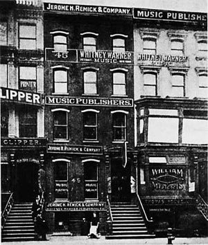 Tin Pan Alley, the Day The Music Died