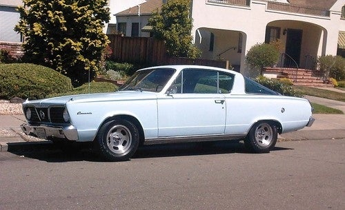 1966 Plymouth Barracuda