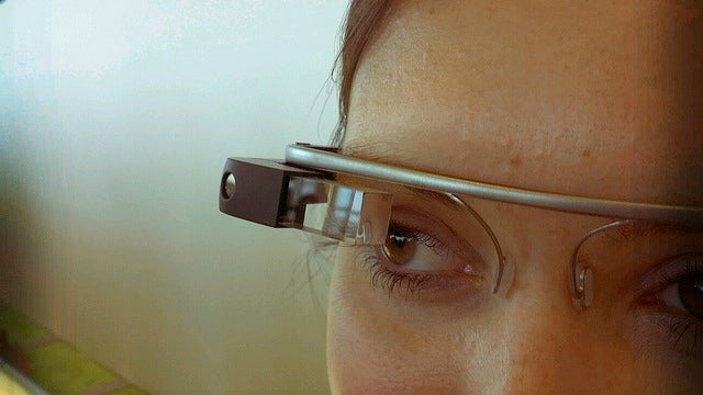 You Could Control Google Glass With a Wink
