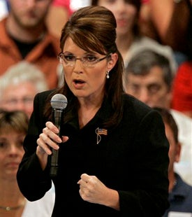 Once We've Warred With Iran, Russia And Spain, Who Will McCain-Palin Attack Next?
