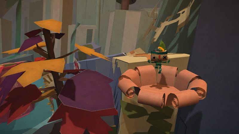 Tearaway Is Not LittleBigPapercraft but It's a Great Love Letter to Your Fingers