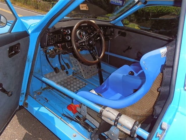 fling some dirt in this beautiful blue saab 96 rally car. Black Bedroom Furniture Sets. Home Design Ideas