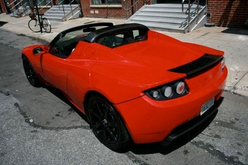 Tesla Roadster Sport: First Photos!