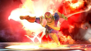 <i>Smash Bros.</i> Players Turned The Falcon Punch Into A Great Mini Game
