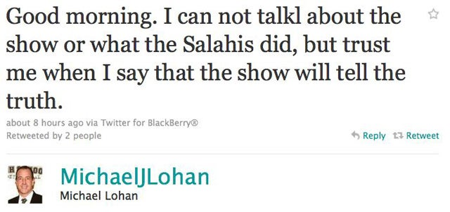 Michael Lohan Hates The Salahis