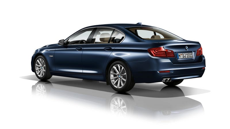 2014 BMW 5-Series Gets New Diesel, New Competition Pack, New Crease