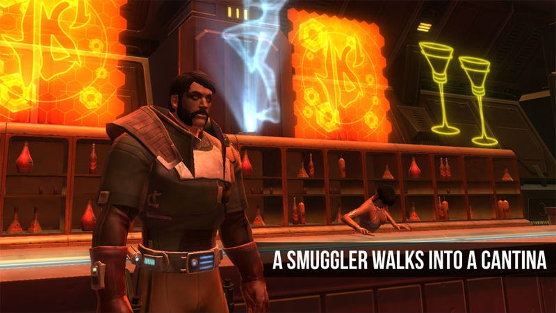 Star Wars: The Old Republic MMO Log Part One: Light and Dark Running Smuggler