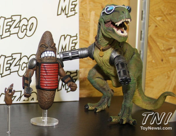 The Axe Cop action figures will be, without question, the greatest toys of all time