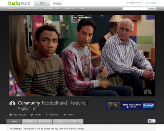 Hulu's Player Grows 55 Percent Amid Major UI Redesign