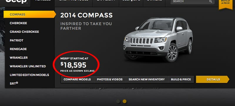 The Jeep Renegade Price Is (Probably) Not $18,595