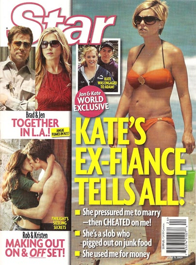 This Week In Tabloids: Kate Wore A Bikini & Twilight Stars Are In Love