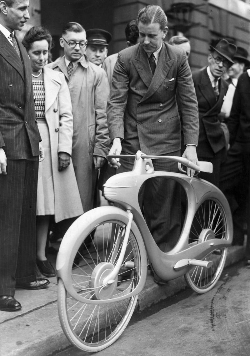 This Was the Bicycle of the Future in 1946