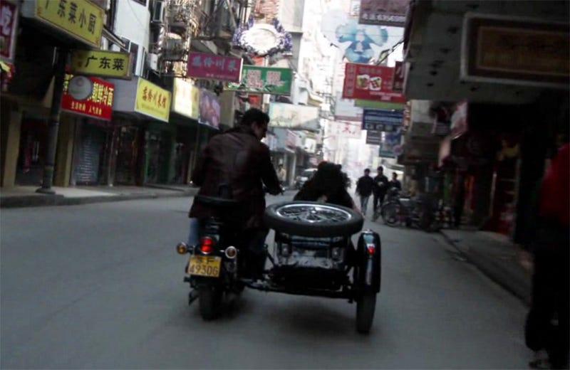 Shanghai Sideways: Vintage Sidecar Motorcycle Tours