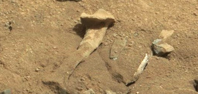 All The Shit We Never Actually Found on Mars
