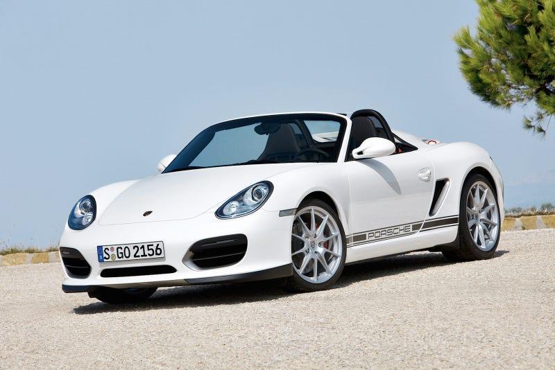2011 Porsche Boxster Spyder: Press Photos