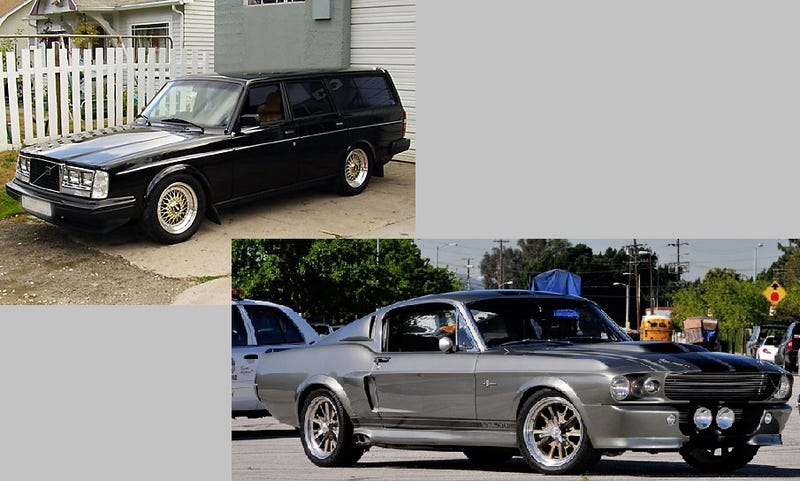 90's Eleanor and a 240 wagon had a baby.