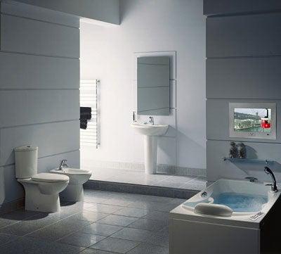 TileVision Waterproof Bathroom TV