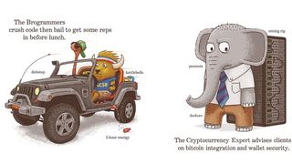 Richard Scarry's Busy World Transformed Into A Silicon Valley Town