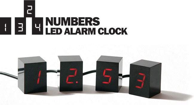 LED Alarm Clock - Bend Time and Space