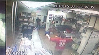 Teen Brothers Chase Away Armed Robber, Awkwardly Hug It Out