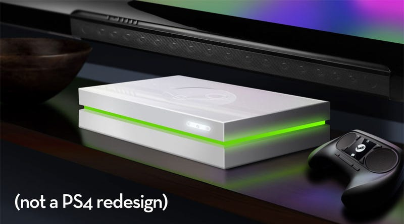 Steam Machine Prototype Looks Like A Whiter PS4