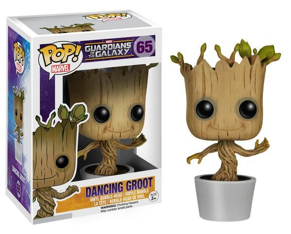 Funko is making a Dancing Groot toy, and it's cute as fuck.