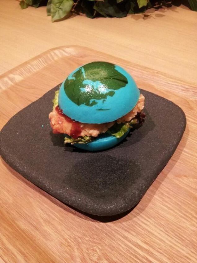 Is This Blue Burger Amazing? Or Disgusting?