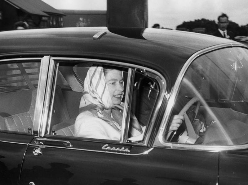 This Is The Queen Driving An Awesome Vauxhall Wagon