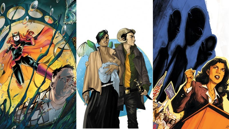 The Panel Discussion Dozen: 12 Comics That Will Probe Your Mind This Week