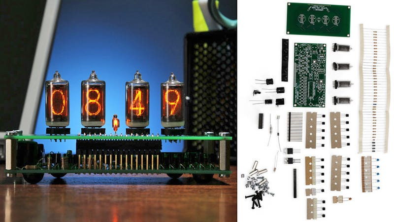 Build An Old-Fashioned Nixie Tube Desk Clock, Just Like Grandpa Did