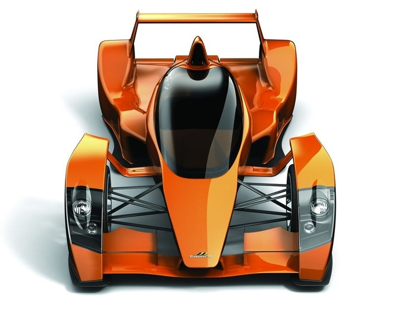 Caparo T1 Race Extreme: A Track Day Street Car For The Track