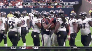 Arian Foster Would Like To Remind You Of The Score
