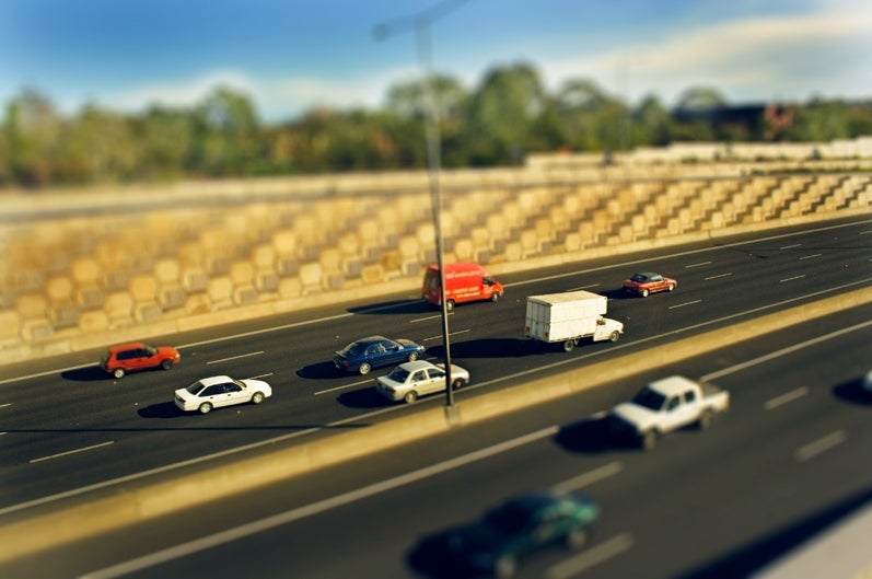 Turning Cars Into Toys: Tilt-Shift Photography Magic
