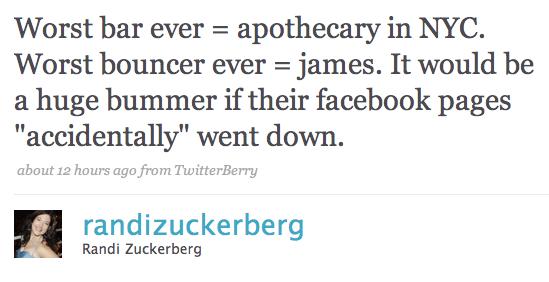 Randi Zuckerberg's Excellent New York Adventure