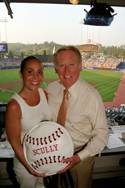 Vin Scully Talks A Lot, Science Proves