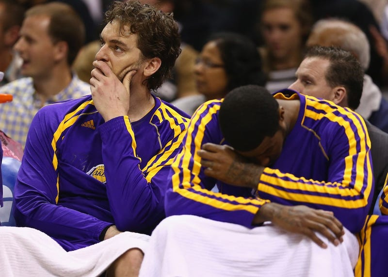 The Lakers Are Breaking Down