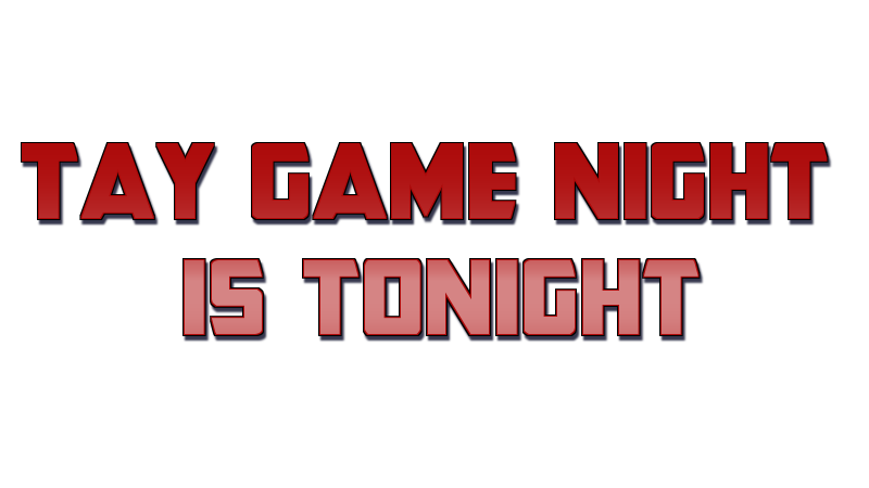 Game Night - July 31, 2013 Reminder and Sign Up
