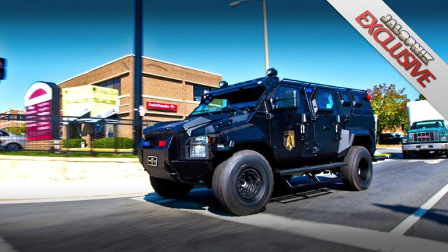 Inside the armored SWAT truck of the future